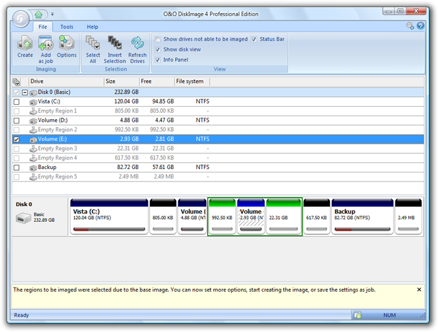 OO DiskImage 4 enables you to image and restore your entire hard disk.