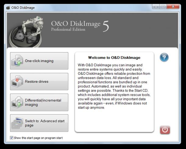 O&O DiskImage enables you to image and restore your entire hard disk.