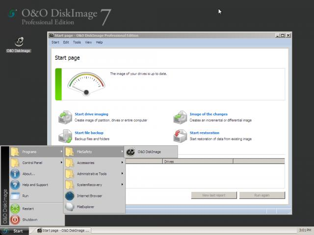 O&O DiskImage Screenshot