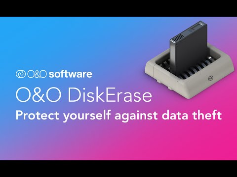 O&O DiskErase- Protect yourself against data theft