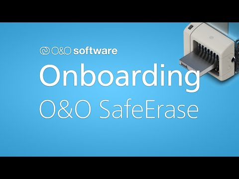Getting started with O&O SafeErase 16