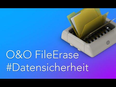 O&O FileErase: Schützen Sie Ihre privaten Informationen vor Datendiebstahl