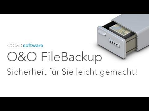 O&O FileBackup: Sofort. Verlässlich. Schnell. Sicherheit für Sie leicht gemacht!