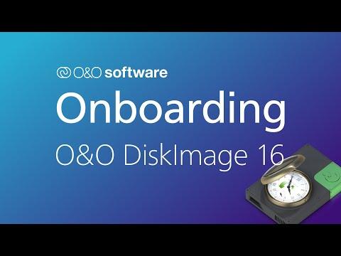 Erste Schritte mit O&O DiskImage 16
