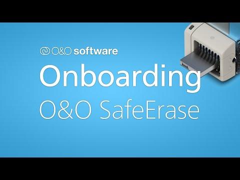 Erste Schritte mit O&O SafeErase 16