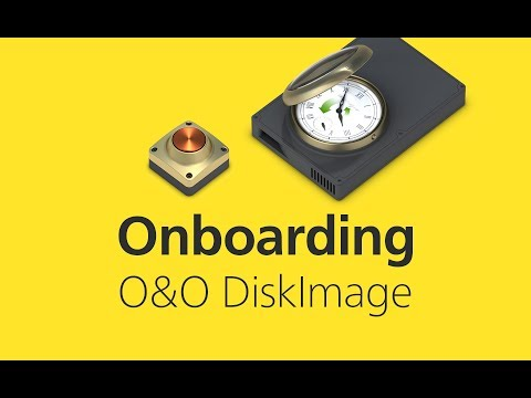 Getting started with O&O DiskImage 14