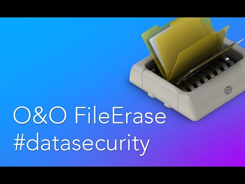 O&O FileErase: Protect your private information from data theft