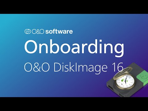 Getting started with O&O DiskImage 16