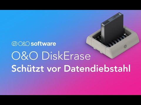 O&O DiskErase - Schützen Sie sich vor Datendiebstahl!