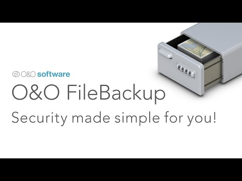 O&O FileBackup: Instant. Reliable. Fast. Security made simple for you!