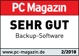 Getestet: Sehr gut - PC Magazin - Backup Software Test