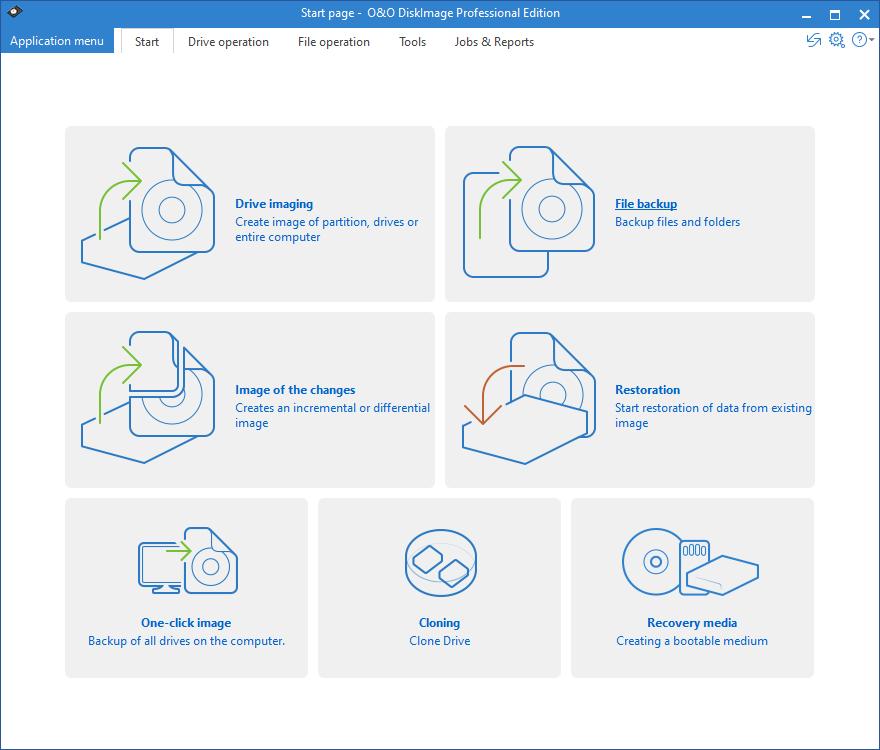 O&O DiskImage Professional 16.5 Build 236 安裝版