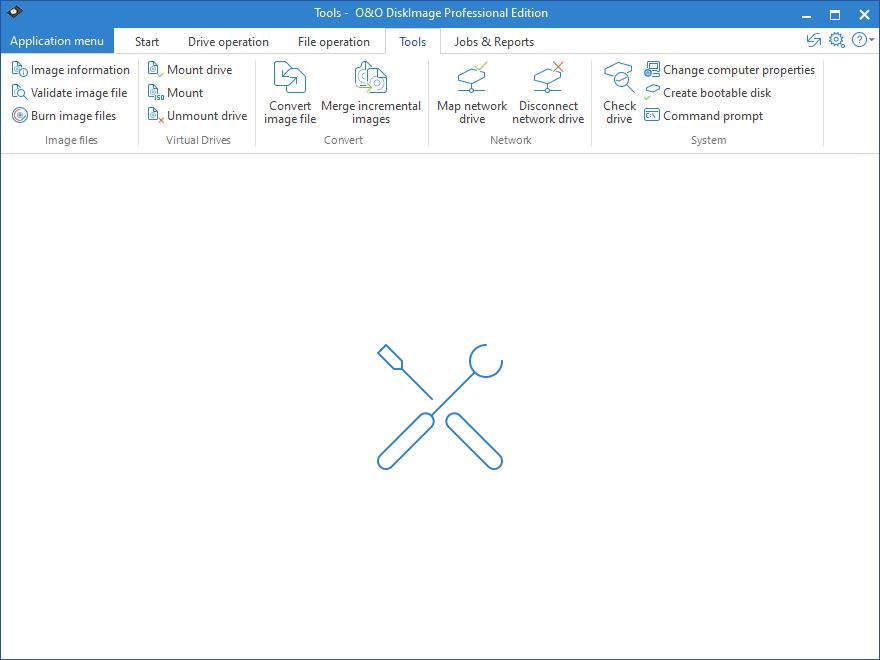 O&O DiskImage Professional screenshot